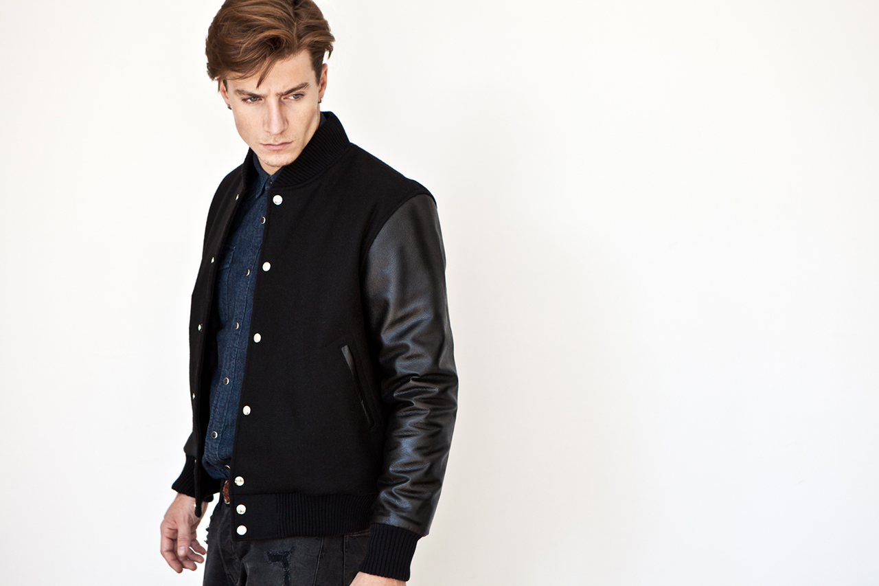 Image of MKI BLACK 2013 Fall/Winter Varsity Jackets