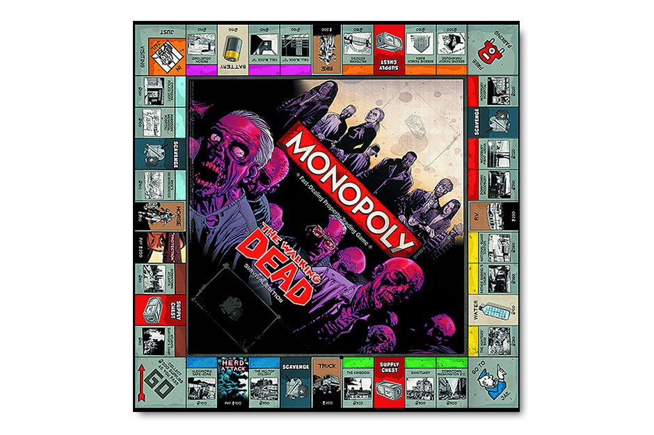 "Image of Monopoly ""Walking Dead"" Edition"