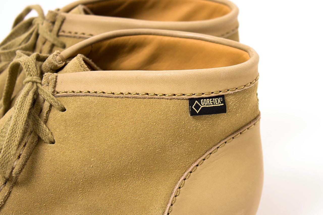 Image of nanamica x Clarks Originals 2013 Fall/Winter Wallabee Boot GORE-TEX