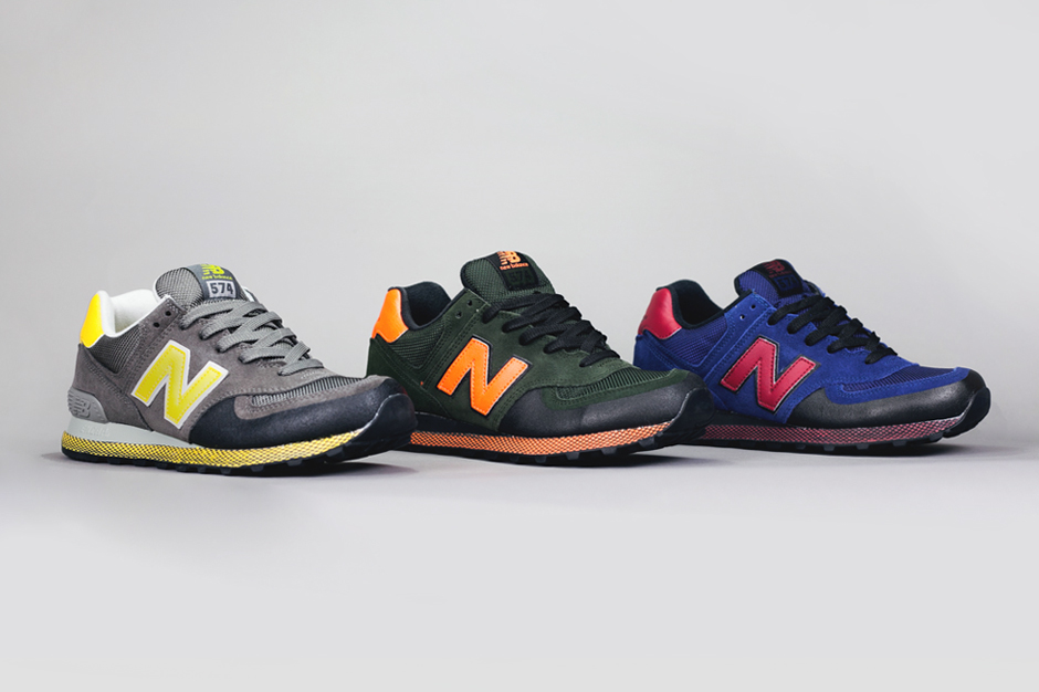 "Image of New Balance 574 ""Winter Elements"" Pack"