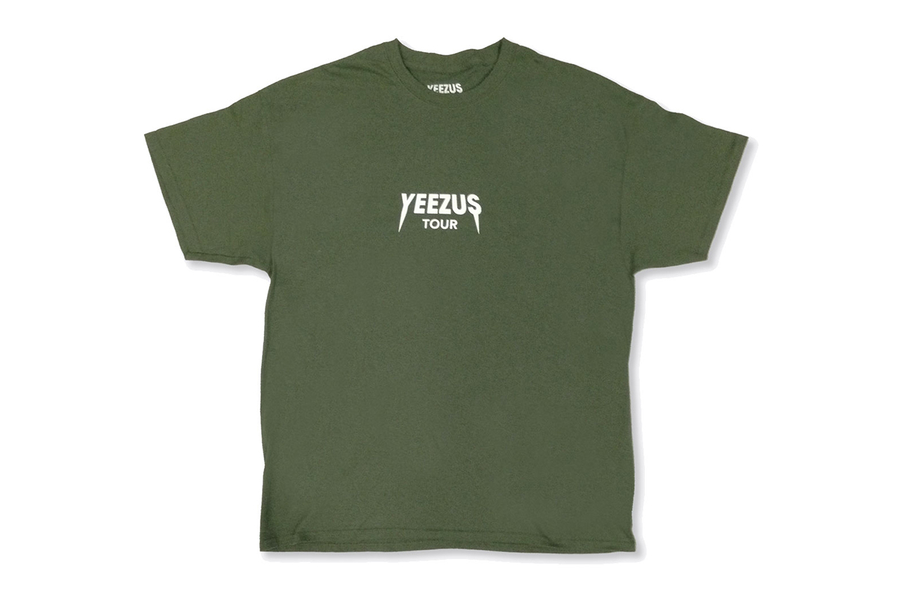 Image of New Yeezus Tour Merchandise Available Online