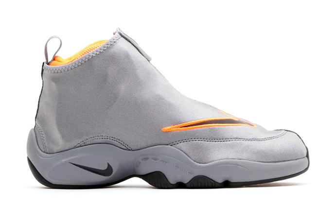 "Image of Nike Air Zoom Flight ""The Glove"" Cool Grey/Black-Total Orange"