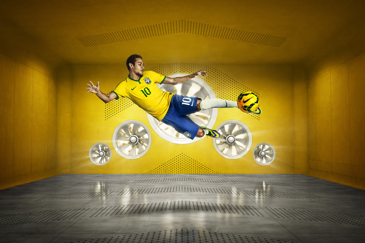 Image of Nike Debuts Brazil's 2014 Football Kit