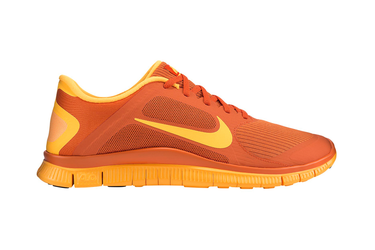 Image of Nike Free 4.0 Urban Orange/Laser Orange