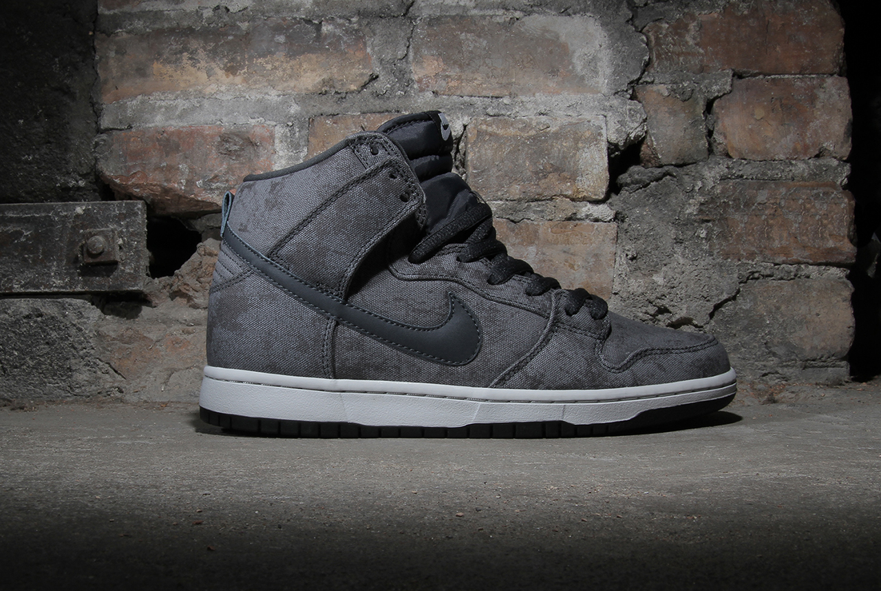 Image of Nike SB Dunk High Neutral Grey