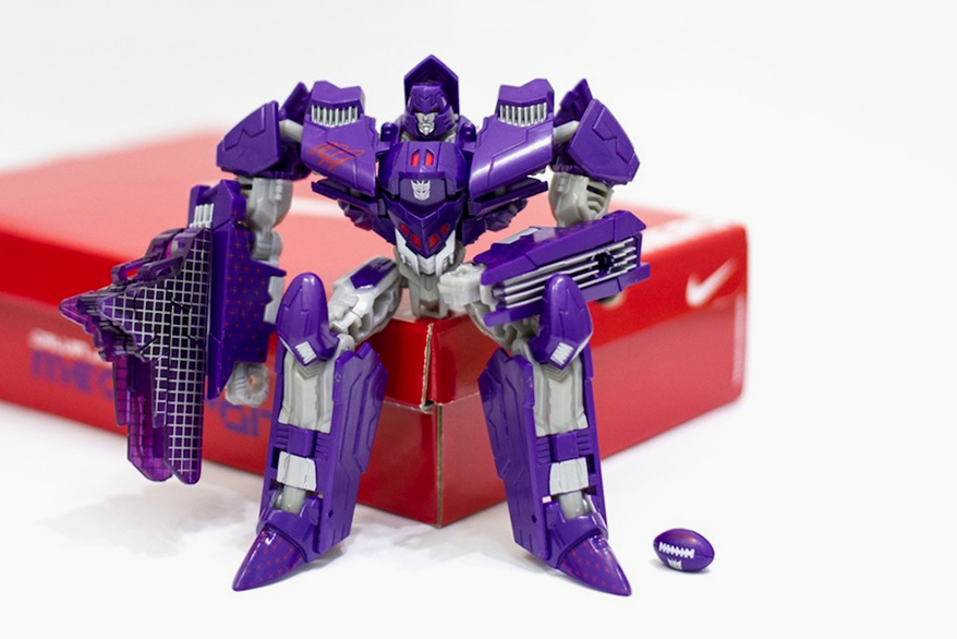 Image of Nike x Hasbro Megatron Action Figure