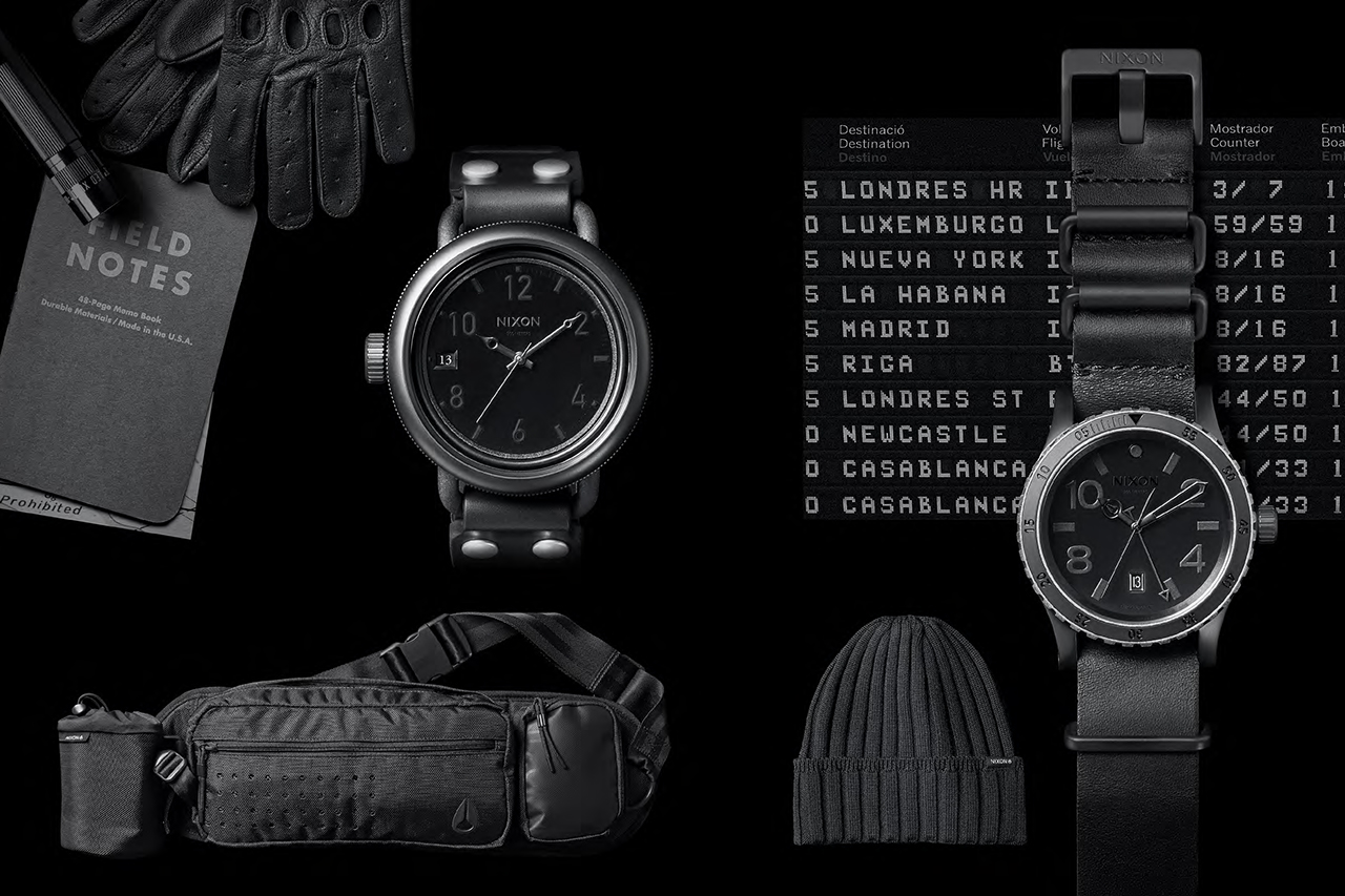 Image of Nixon Japan 2013 Holiday Limited All Black Collection