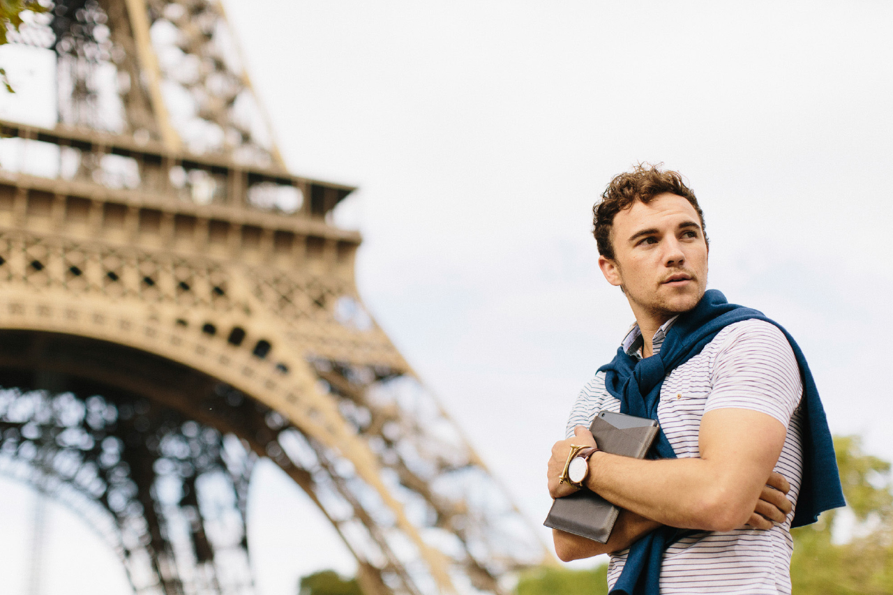 Image of Slowing Down to a Walk In Paris with Octovo