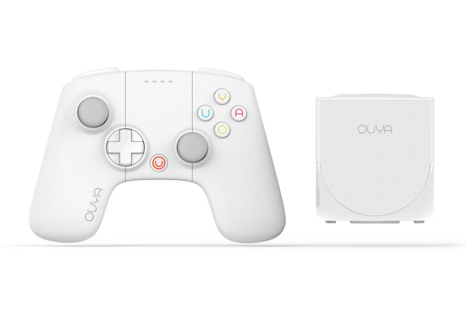 Image of OUYA 2013 Limited Holiday White Edition