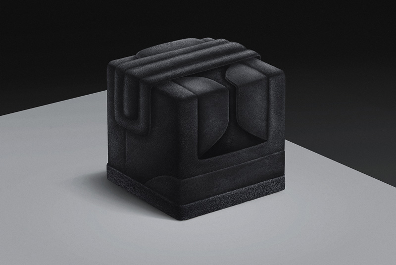 "Image of Pawel Nolbert Sneakercube ""Black Series"""