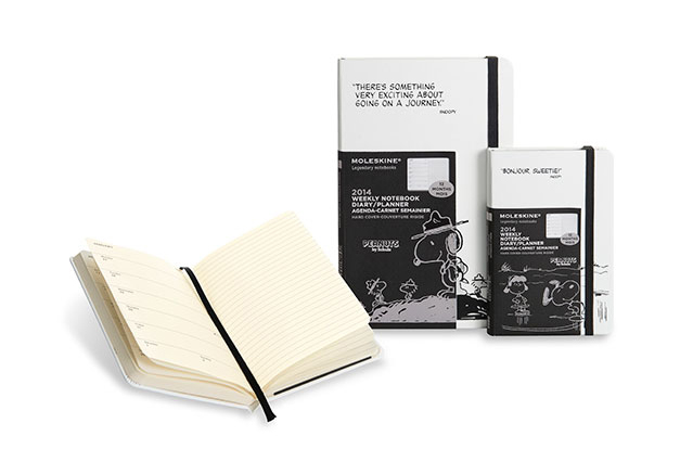 Image of Peanuts x Moleskine 2014 Notebook Collection
