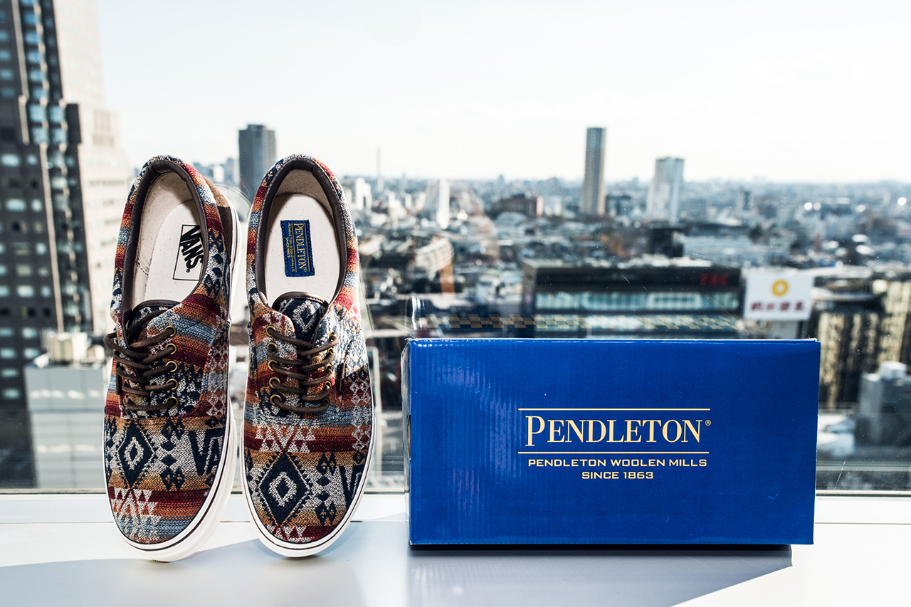 Image of Pendleton x Vans Japan 2013 Fall/Winter Collection