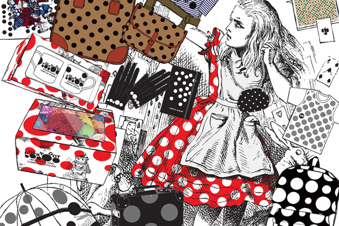 Image of POLKA DOT WONDERLAND COMME des GARCONS 2013 Holiday Collection
