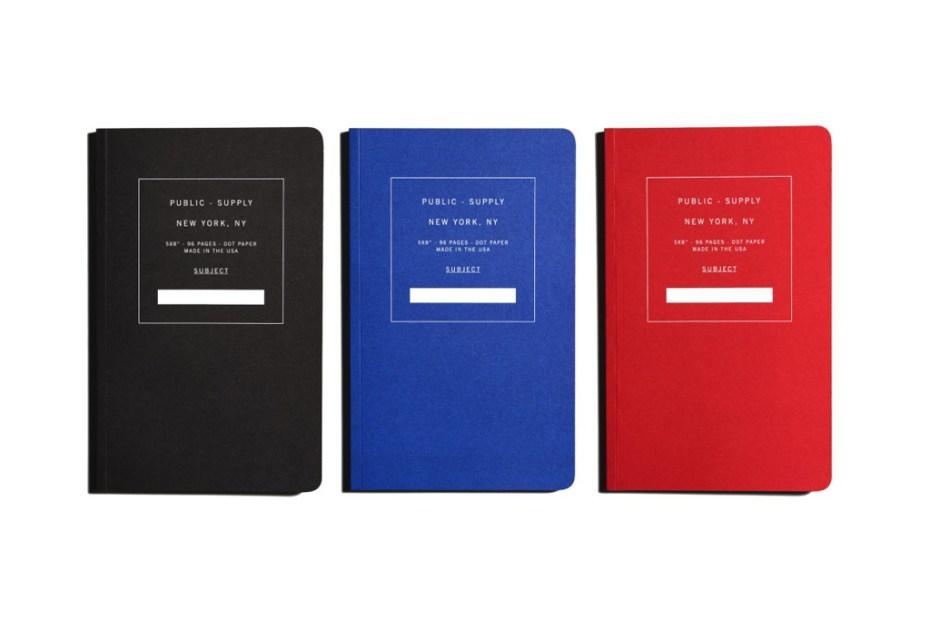 Image of Public Supply Notebooks
