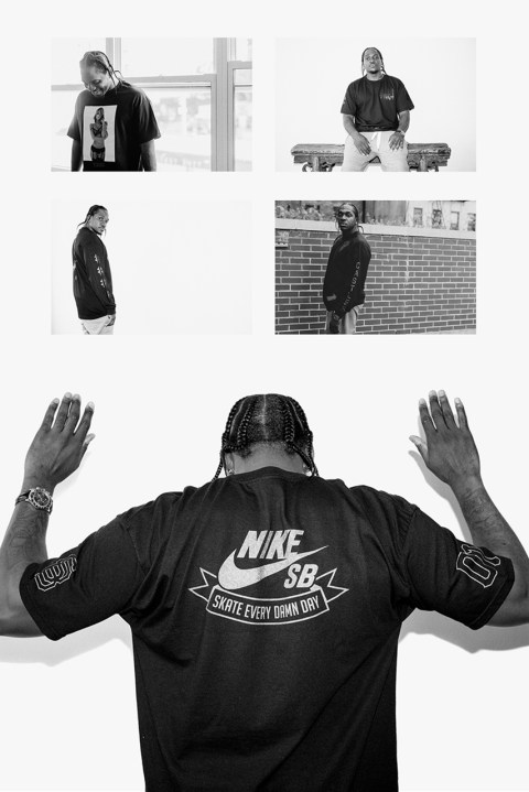 """Image of Pusha T Shot by Van Styles for PacSun's """"Black Out Pack"""" Collection"""