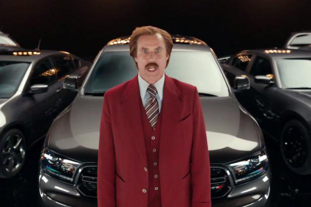 Image of Ron Burgundy x Dodge Durango Videos