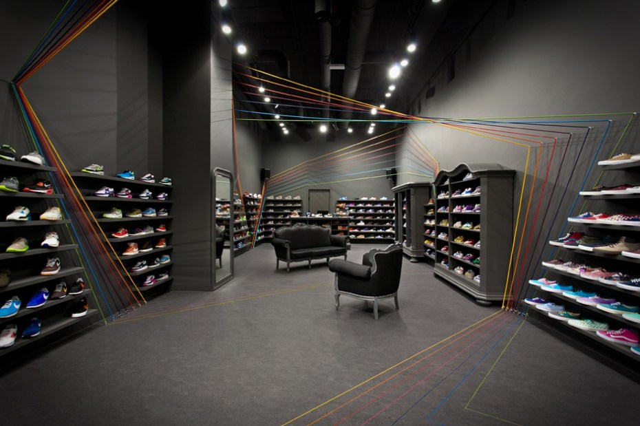 Image of mode:lina Designs New Run Colors Sneaker Shop in Poznań, Poland