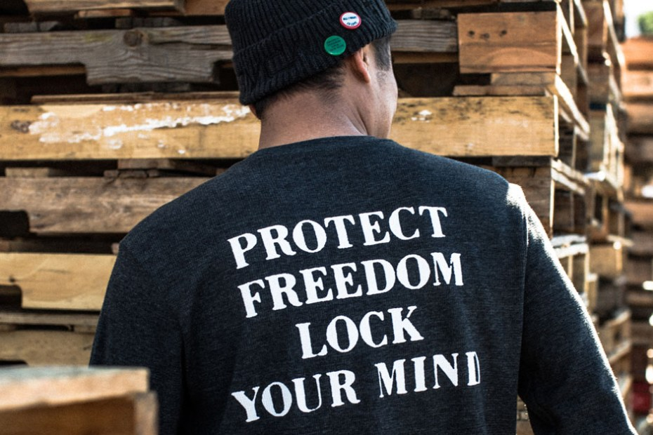 """Image of RVCA x FUCT """"Protect Freedom"""" Capsule Collection"""