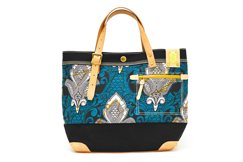 Image of SHIPS JET BLUE x master-piece 2013 Fall/Winter Batik Tote Bag