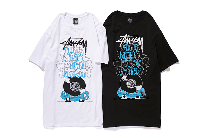 "Image of Stones Throw Records x Stussy ""Our Vinyl Weighs A Ton"" Capsule Collection"