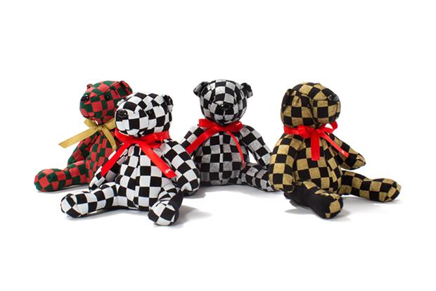 Image of Stussy 2013 Holiday Checker Bear