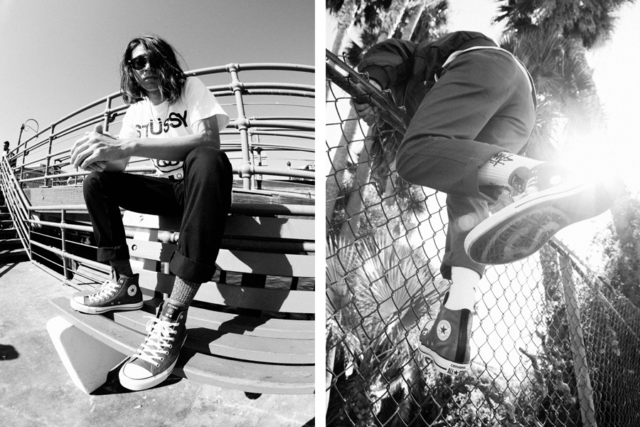 Image of Stussy for Converse 2013 Fall/Winter Chuck Taylor All Star Hi Lookbook