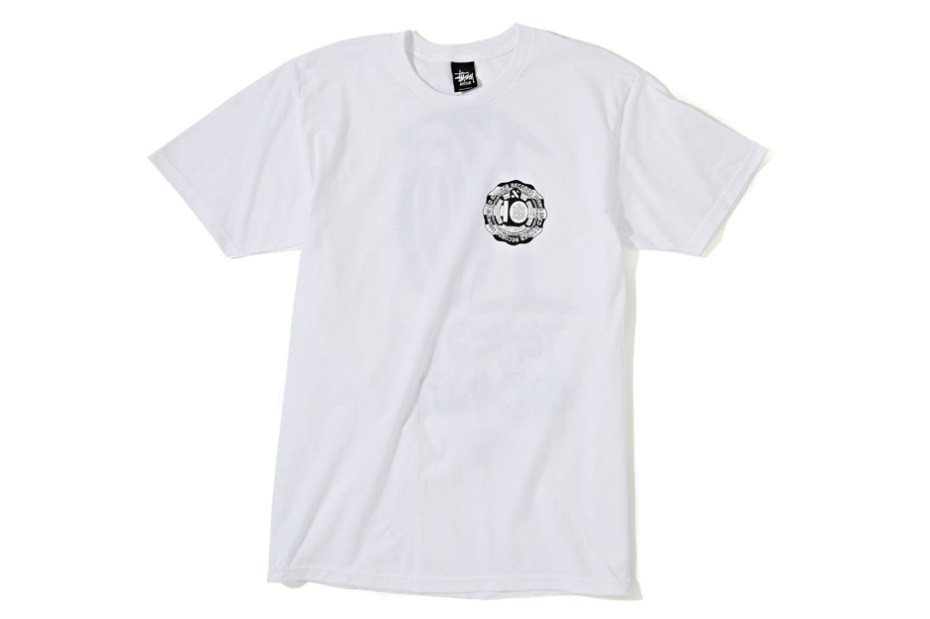"Image of Stussy x Ed Banger Club 75 ""10 Year Anniversary"" T-Shirts"