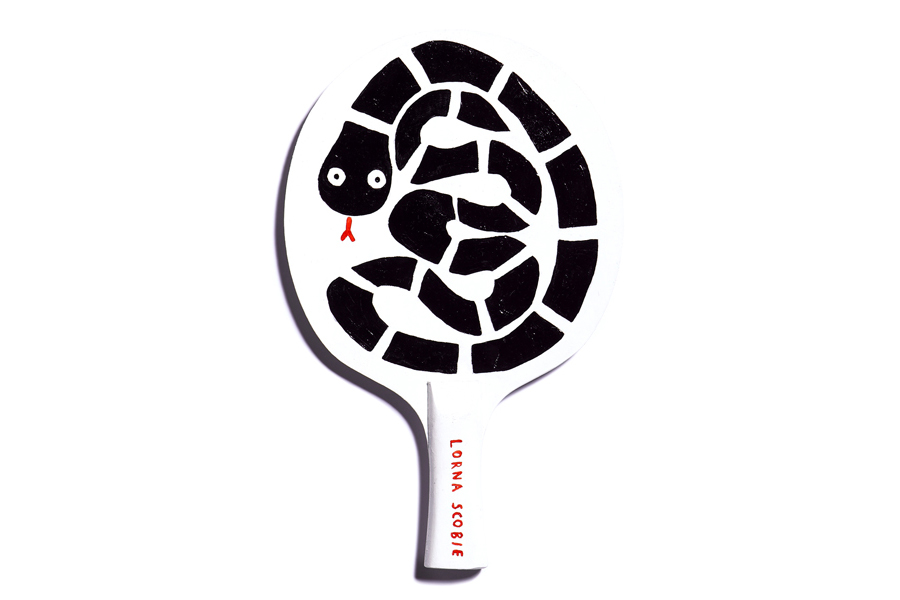 Image of The Art of Ping Pong for BBC Children in Need Art Show