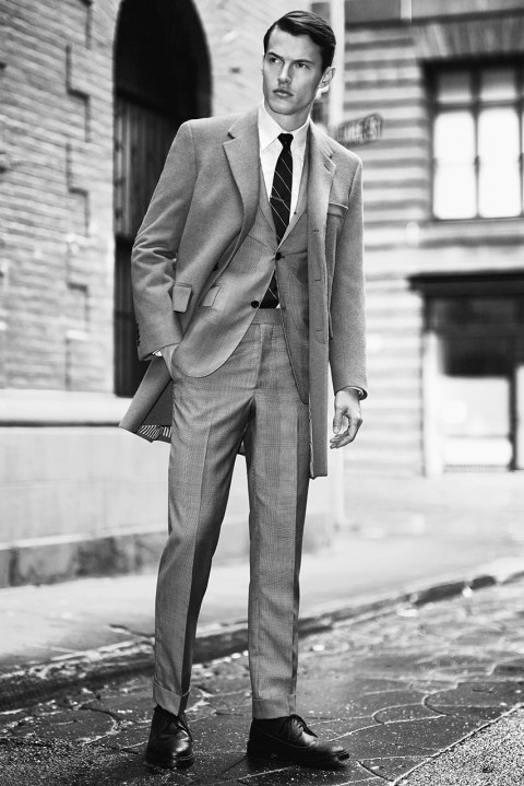 Image of Thom Browne Set to Introduce Classic Tailoring in Fall 2014