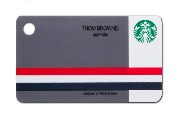 Image of Thom Browne's Gift Card for Starbucks Japan