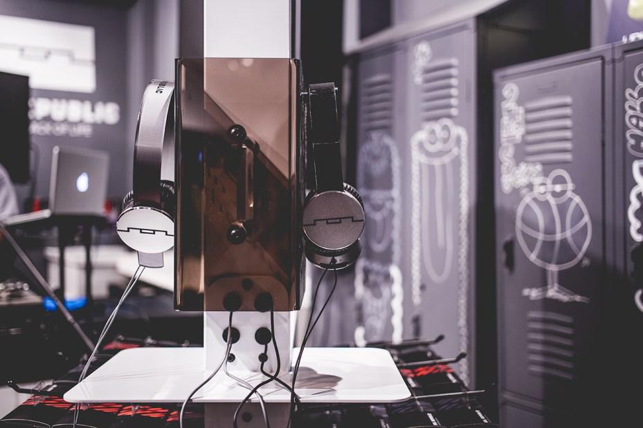 "Image of UBIQ x SOL REPUBLIC Tracks V8 ""Woodgrain"" Launch Recap"