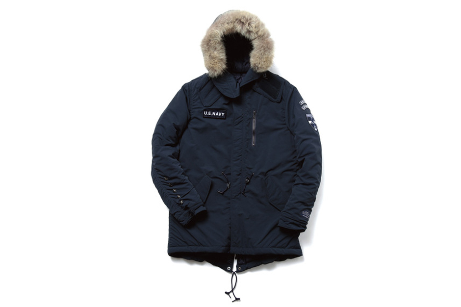 Image of uniform experiment 2013 Fall/Winter Padded Mods Coat