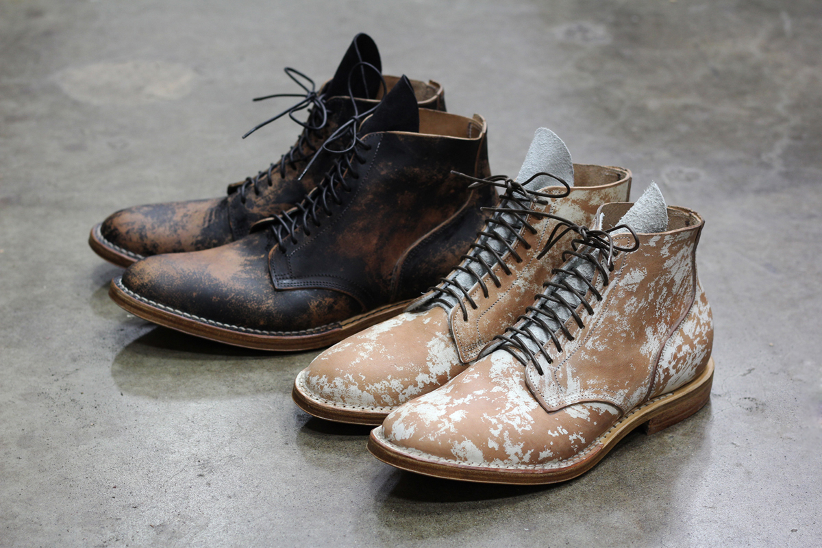 Image of Viberg Boot Painted Horsehide Service Boots