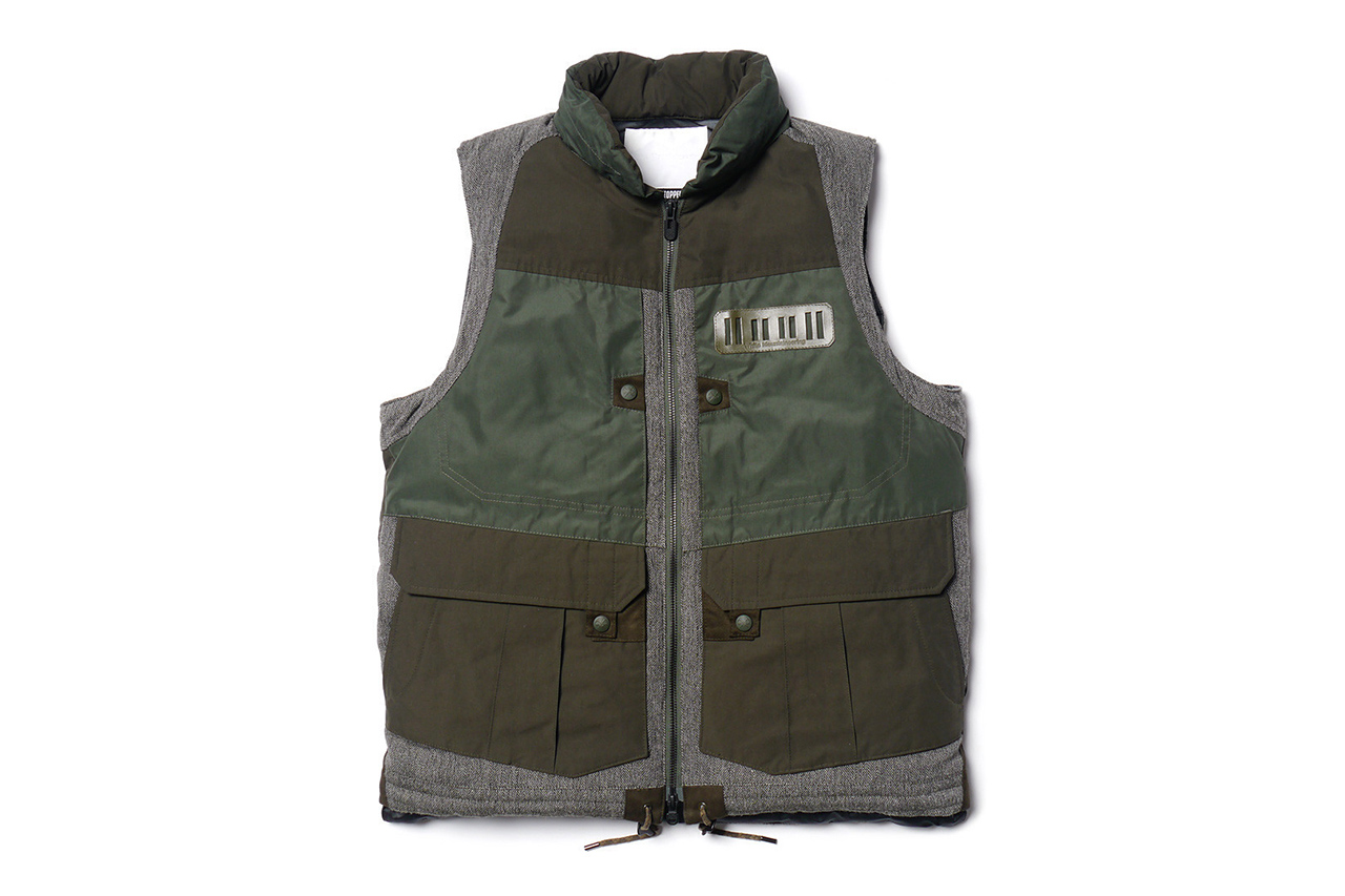 Image of White Mountaineering WINDSTOPPER® Memory Weather Micro Peach Luggage Vest