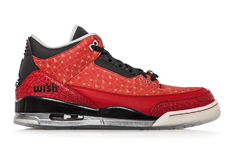 "Image of Wish x Air Jordan 3 Retro ""Doernbecher"" Special 1-of-1 Edition"