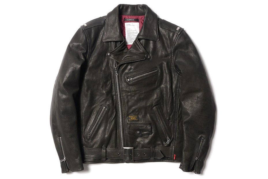 Image of WTAPS Leather Riders Jacket