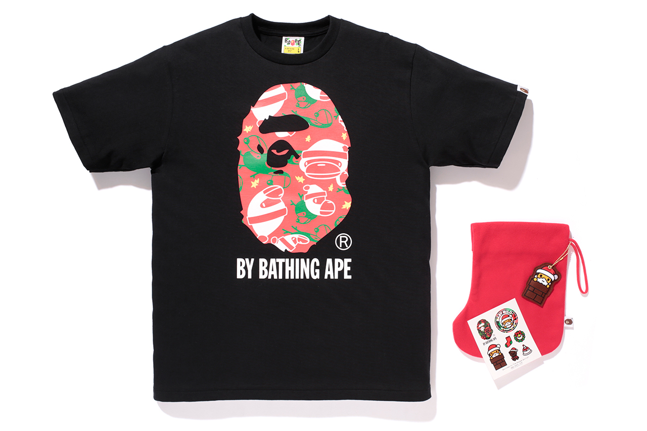 Image of A Bathing Ape BABY MILO Christmas Collection