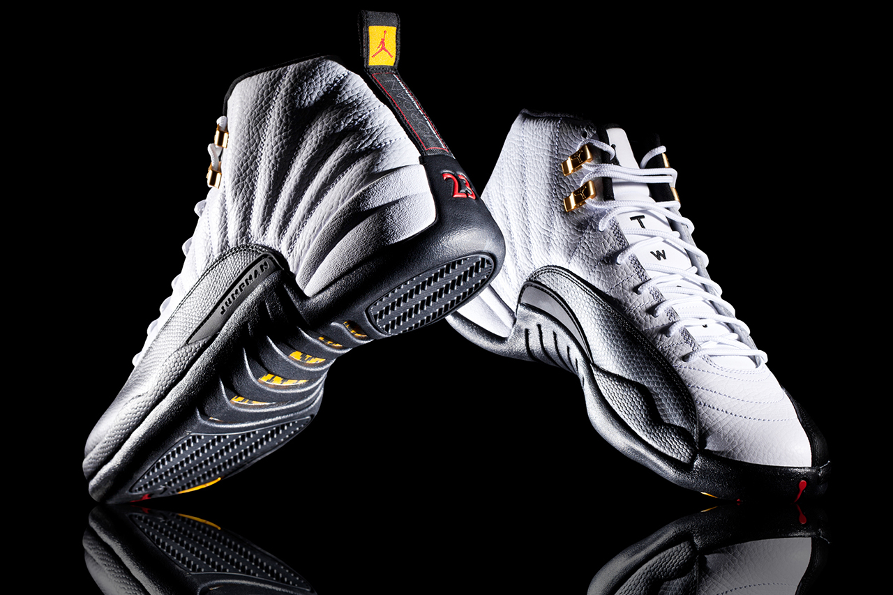 "Image of A Closer Look at the Air Jordan 12 Retro ""Taxi"""
