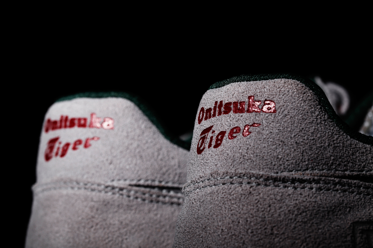 "Image of A Closer Look at The Good Will Out x Onitsuka Tiger X-Caliber ""Silver Knight"""
