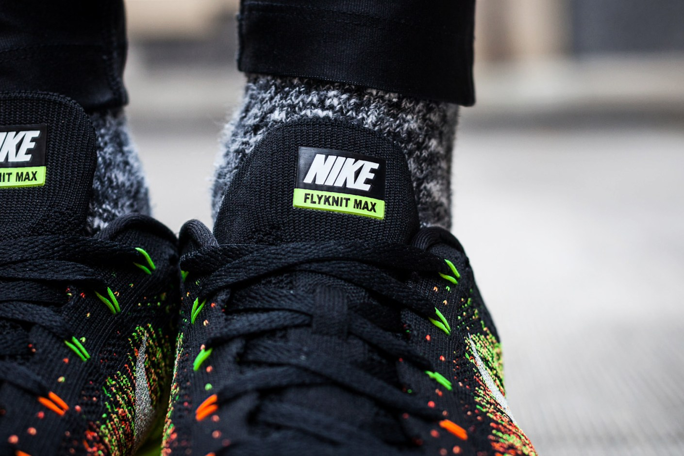 Image of A Closer Look at the Nike Flyknit Air Max