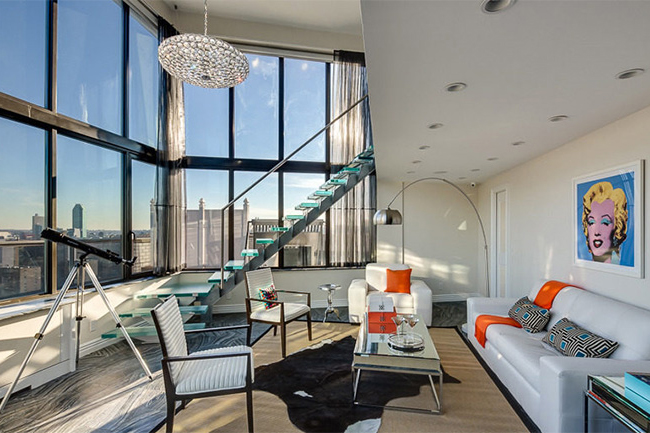 Image of A Look Inside of Frank Sinatra's New York Penthouse