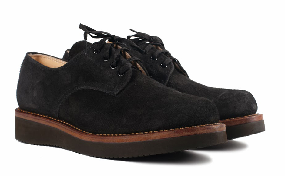 Image of Ace Boots for Self Edge Black Oxford