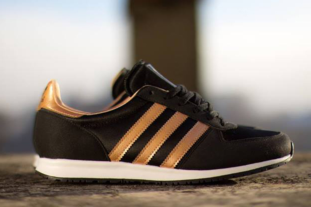 Image of adidas Originals adistar Racer Black/Rose Gold Metallic