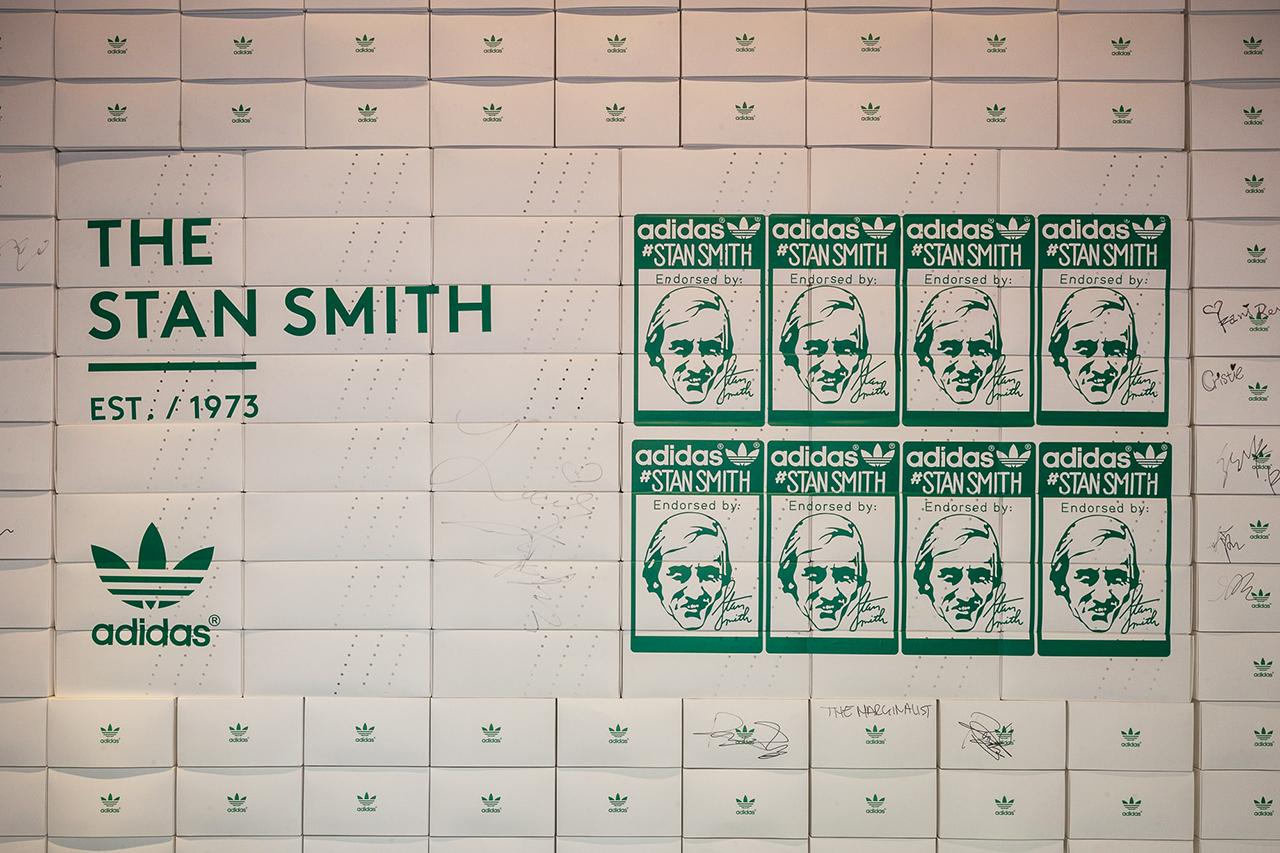 "Image of adidas Originals ""The Stan Smith's: Return of the Classic"" Exhibition @ Dahood Shanghai Recap"