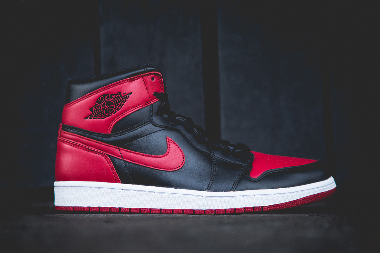 For example, you have the Air Jordan 1 'Bred' ...