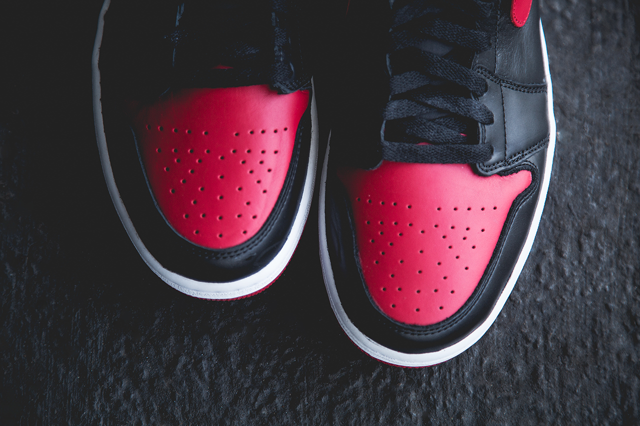 "Image of Air Jordan 1 Retro ""Bred"" Preview"