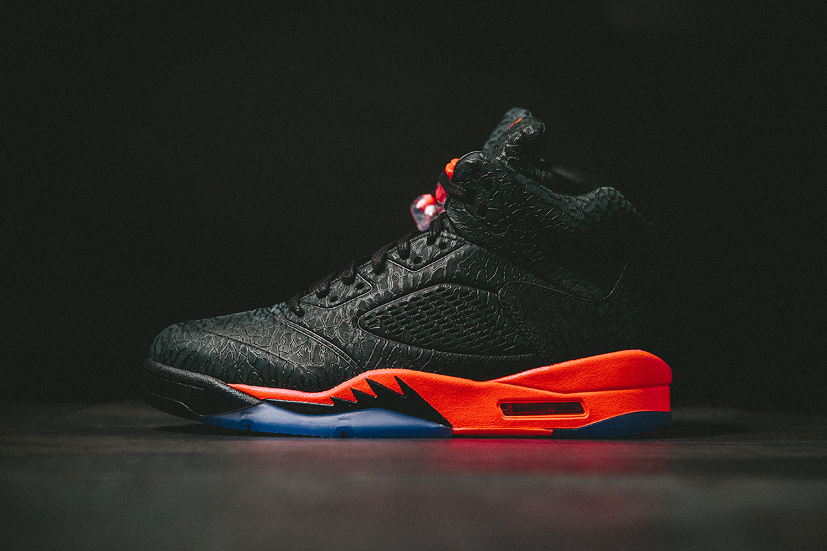"Image of Air Jordan 5 Retro 3Lab5 ""Black Infrared"""