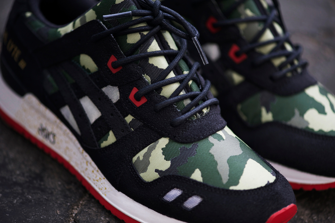 """Image of An Exclusive Look at the BAIT x ASICS Gel Lyte III """"Basics Model-001 Vanquish"""""""