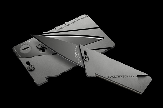 Image of Ian Sinclair CardSharp 4 Metal Credit Card Folding Knife