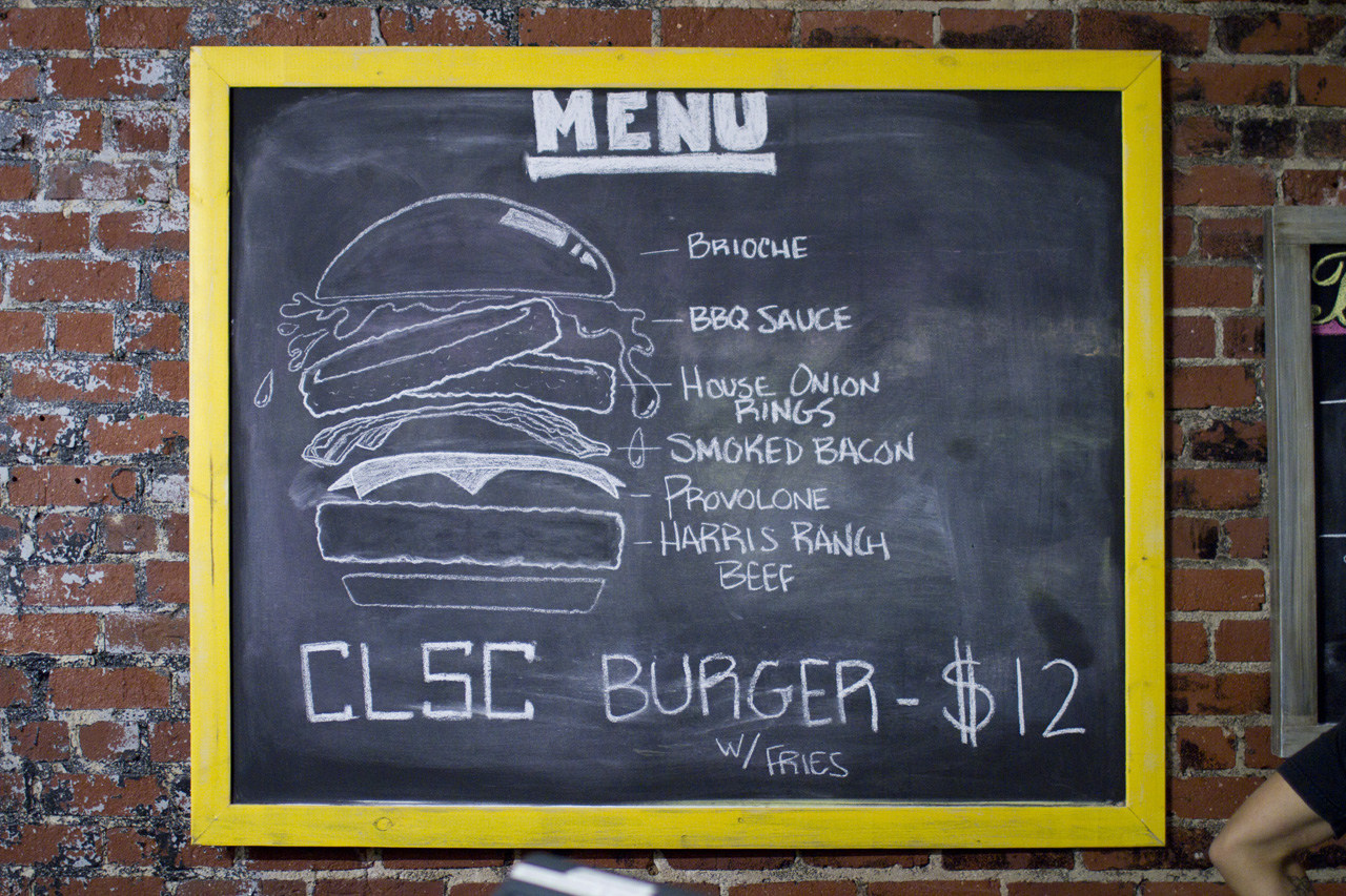 "Image of CLSC Teams Up with The Golden State on the Limited Edition ""CLSC BBQ BURGER"""